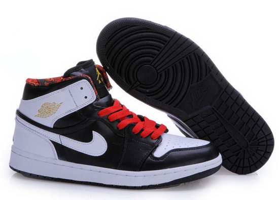 Mens & Womens (unisex) Air Jordan Retro 1 White Black Las Vegas For Sale