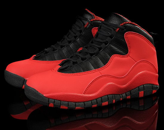 Mens & Womens (unisex) Air Jordan Retro 10 Gs Fusion Red For Sale