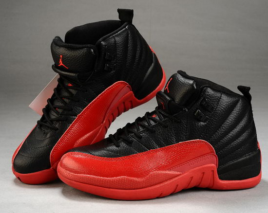 Mens & Womens (unisex) Air Jordan Retro 12 Black Red Japan
