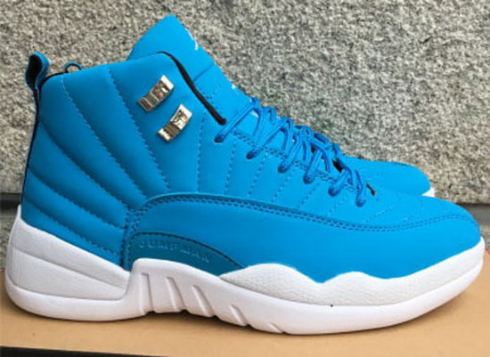 Mens & Womens (unisex) Air Jordan Retro 12 Blue White Australia