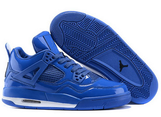 Mens & Womens (unisex) Air Jordan Retro 4 All Blue Best Price