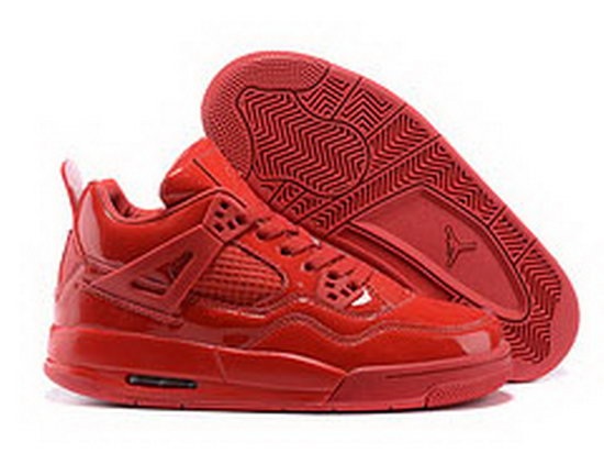 Mens & Womens (unisex) Air Jordan Retro 4 All Red Discount Code