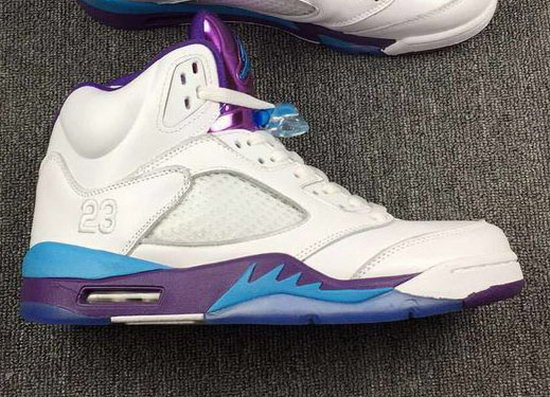 Mens & Womens (unisex) Air Jordan Retro 5 White Hornets Outlet
