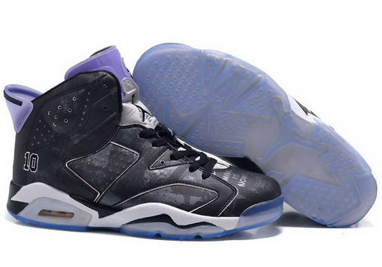 Mens & Womens (unisex) Air Jordan Retro 6 Black Slam Dunk For Sale