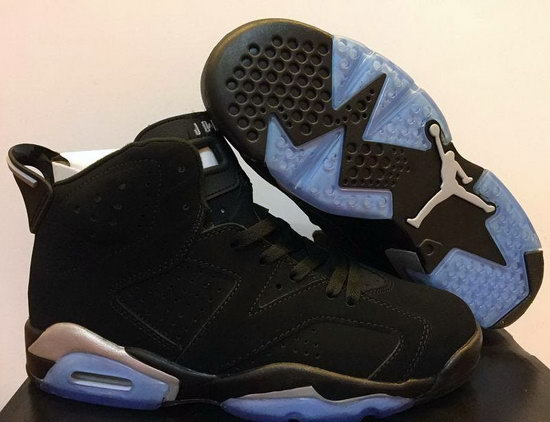 Mens & Womens (unisex) Air Jordan Retro 6 Black Portugal