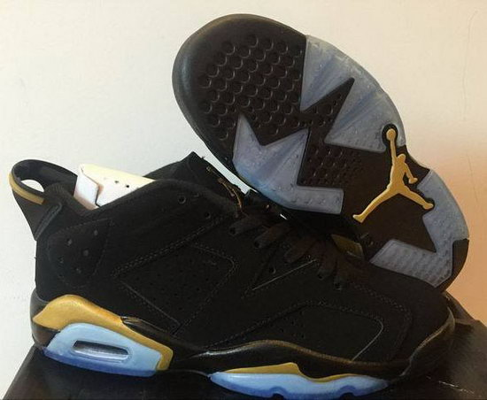 Mens & Womens (unisex) Air Jordan Retro 6 Low Black Gold Australia