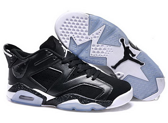 Mens & Womens (unisex) Air Jordan Retro 6 Low Black Korea