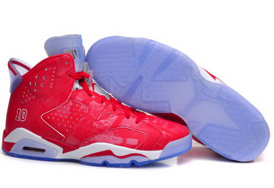 Mens & Womens (unisex) Air Jordan Retro 6 Red Outlet