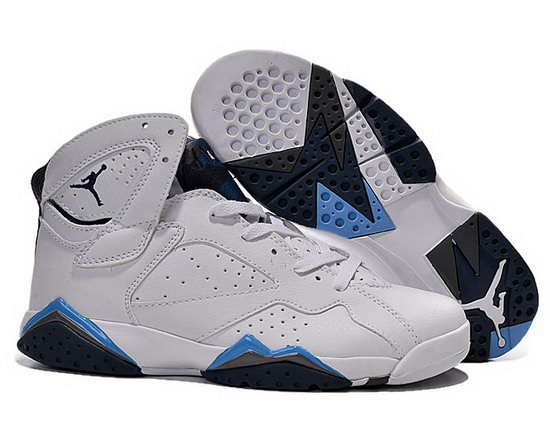 Mens & Womens (unisex) Air Jordan Retro 7 White Black Jade Outlet
