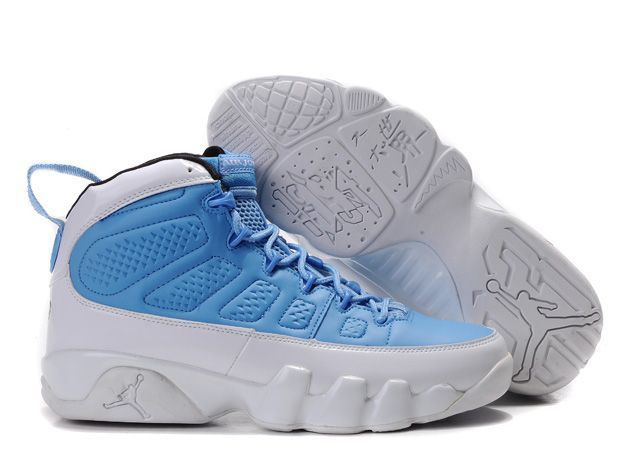 Mens & Womens (unisex) Air Jordan Retro 9 Blue White Hong Kong