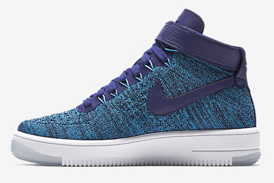 Mens & Womens (unisex) Nike Air Force 1 Flyknit High Blue China