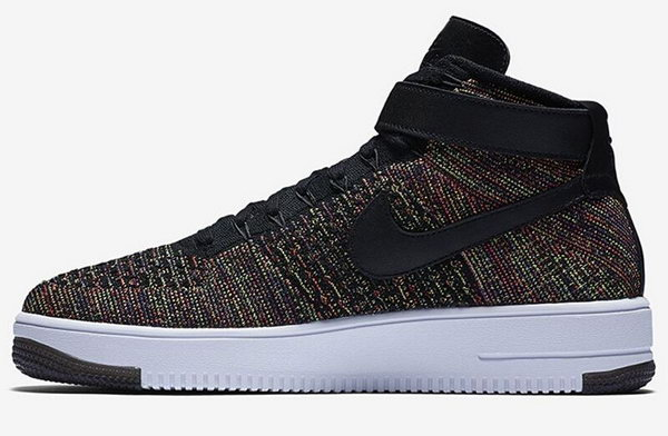 Mens & Womens (unisex) Nike Air Force 1 Flyknit High Colorful Ireland