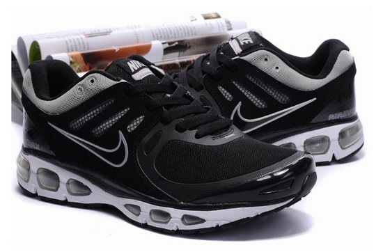 Mens & Womens (unisex) Nike Air Max 2010 Black Silver Online