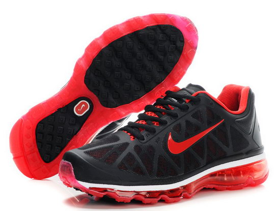 Mens & Womens (unisex) Nike Air Max 2011 Black Red New Zealand