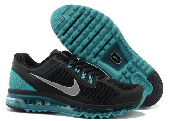 Mens & Womens (unisex) Nike Air Max 2013 Black Jade Portugal