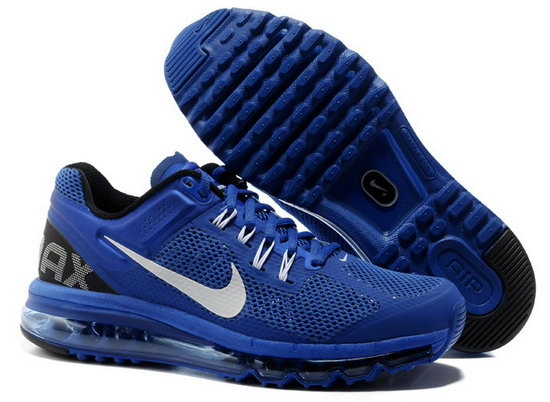 Mens & Womens (unisex) Nike Air Max 2013 Dark Blue Outlet Store