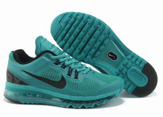 Mens & Womens (unisex) Nike Air Max 2013 Green Black Usa