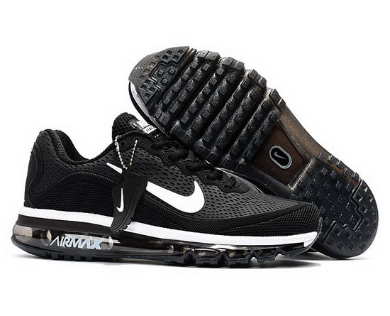 Mens & Womens (unisex) Nike Air Max 2017.5 Black White Italy