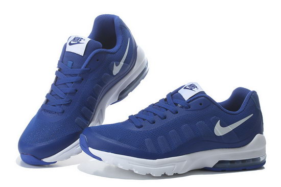 Mens & Womens (unisex) Nike Air Max 95 Invigor Print Blue White 36-45 Factory Outlet