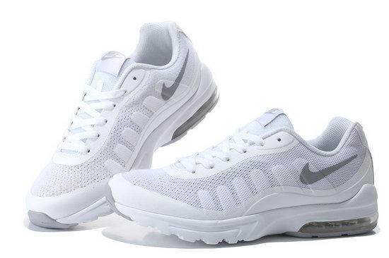 Mens & Womens (unisex) Nike Air Max 95 Invigor Print White Silver 36-45 Factory