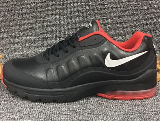 Mens & Womens (unisex) Nike Air Max 95 Leather Black Red 36-45 Portugal