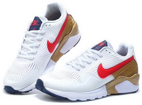 Mens & Womens (unisex) Nike Air Pegasus 92 White Red Gold 36-44 Clearance