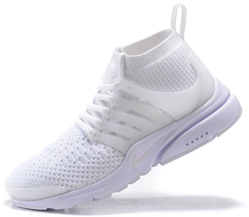 Mens & Womens (unisex) Nike Air Presto Ultra Flyknit All White 36-46 Factory