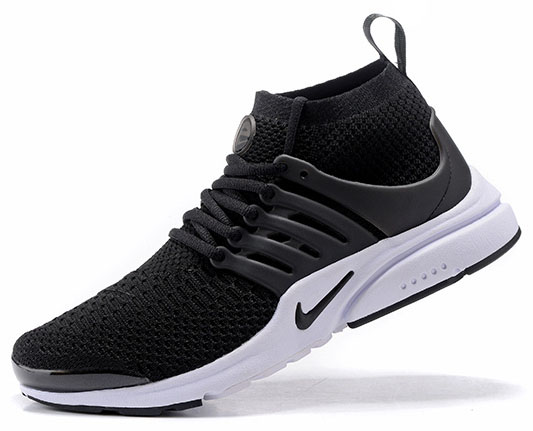 Mens & Womens (unisex) Nike Air Presto Ultra Flyknit Black White 36-46 Low Price