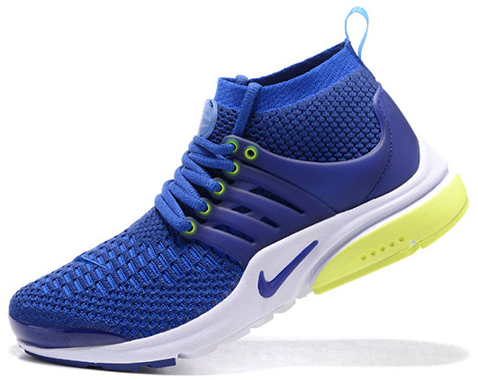 Mens & Womens (unisex) Nike Air Presto Ultra Flyknit Blue Green 36-46 Italy