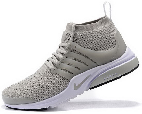 Mens & Womens (unisex) Nike Air Presto Ultra Flyknit Grey White 36-46 Coupon