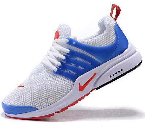 Mens & Womens (unisex) Nike Air Presto White Blue Red 36-46 Czech