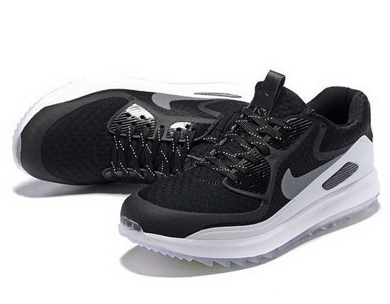 Mens & Womens (unisex) Nike Air Zoom 90 It Black White Silver Czech