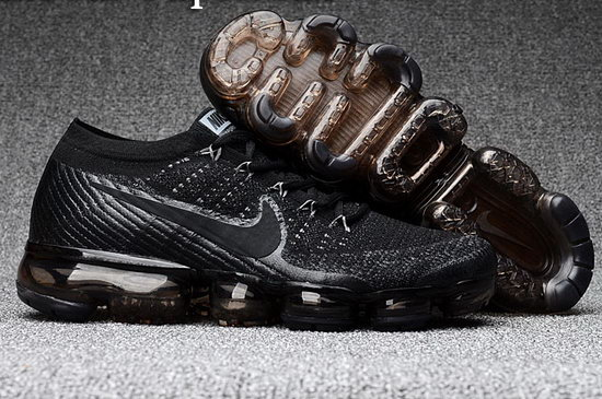 Mens & Womens (unisex) Nike Flyknit Air Vapormax 2018 All Black Usa
