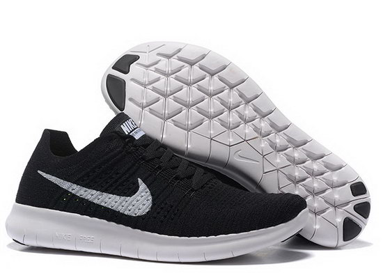 Mens & Womens (unisex) Nike Free Flyknit 5.0 V2 Black White 36-45 Ireland