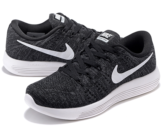 Mens & Womens (unisex) Nike Lunarepic Low Flyknit Grey Black White 36-45 Online