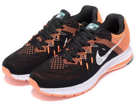 Mens & Womens (unisex) Nike Zoom Winflo 2 Black Orange 36-45 Promo Code