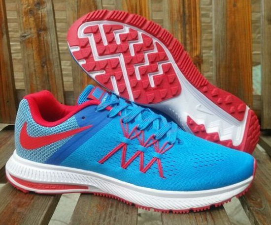 Mens & Womens (unisex) Nike Zoom Winflo 3 Blue Red 36-45 Canada