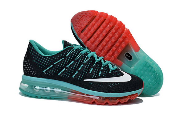 Mens Air Max 2016 Black Red Green Outlet