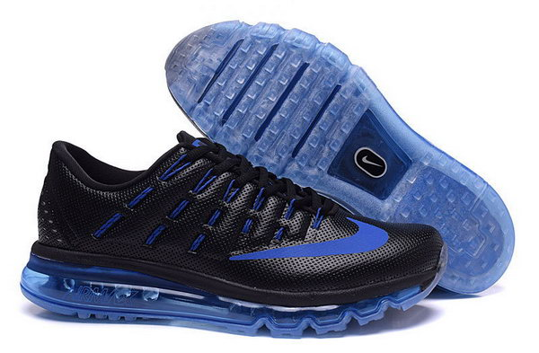 Mens Air Max 2016 Mens Blue Black Coupon