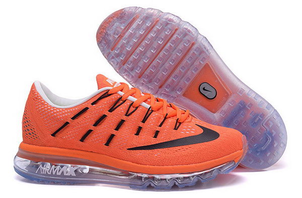 Mens Air Max 2016 Orange Black Grey Sweden