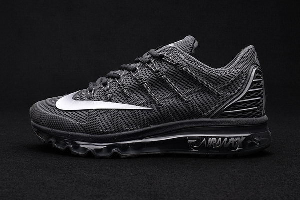 Mens Air Max 2016 Premium All Black Poland