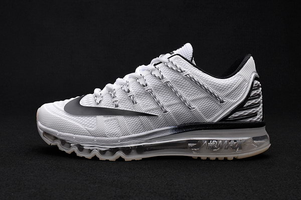 Mens Air Max 2016 Premium All Grey Black Coupon Code