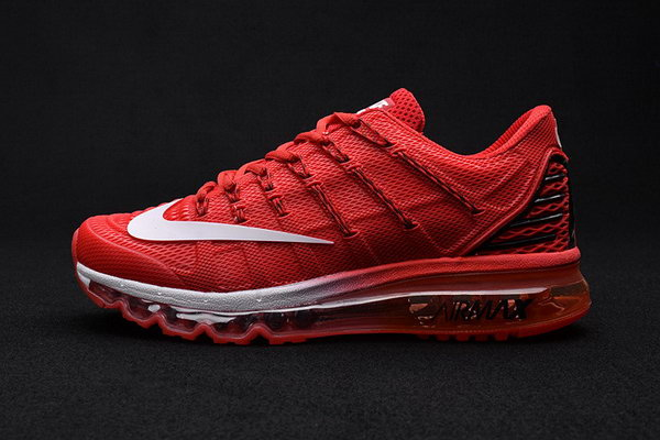 Mens Air Max 2016 Premium All Red Grey Wholesale