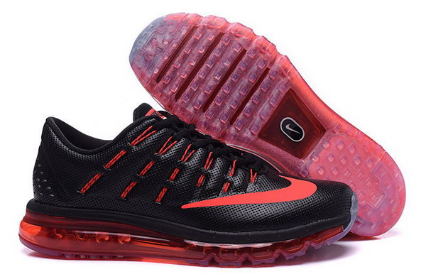 Mens Air Max 2016 Red Black Outlet Store