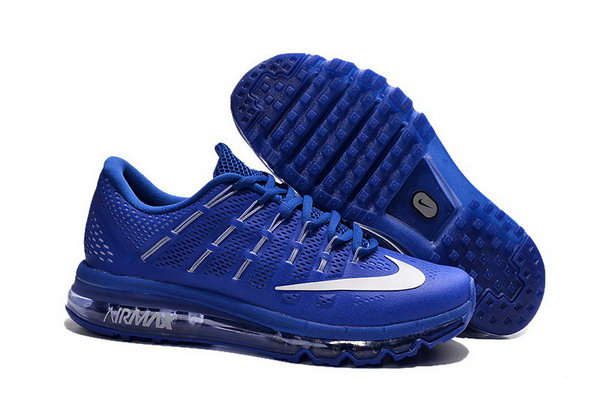 Mens Air Max 2016 Royal Blue Grey White Australia