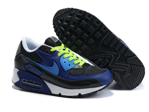 Mens Air Max 90 Black Green Blue Italy