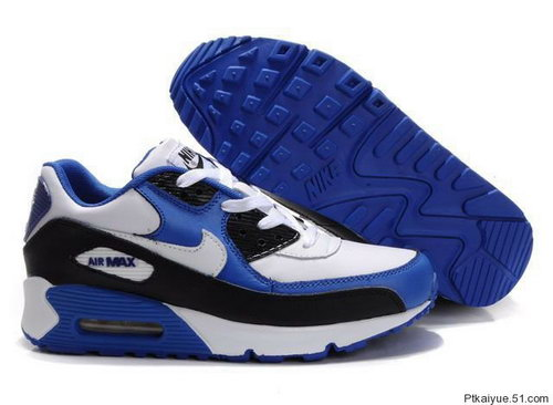 Mens Air Max 90 Blue White Black Uk