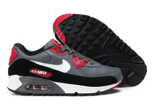 Mens Air Max 90 Red Grey White Usa