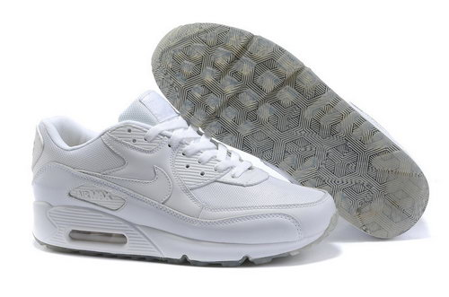 Mens Air Max 90 White Grey Czech