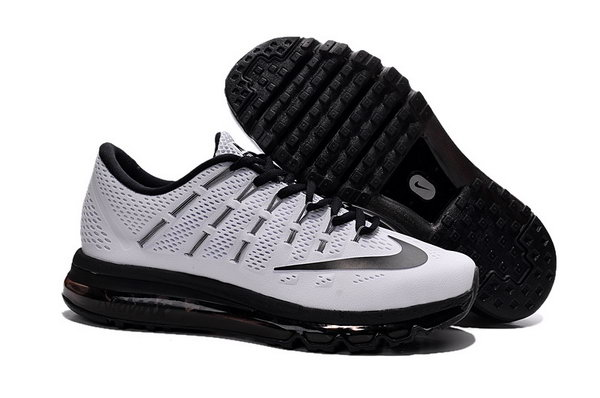 Mens Cheap Air Max 2016 White Black Switzerland